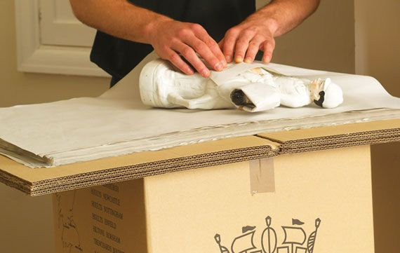 Safe storage and packing service with Hoults